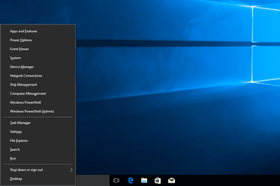 Switch Command Prompt and PowerShell on the Win+x Menu