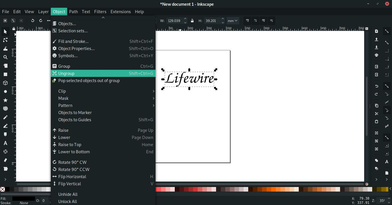 Using Inkscape to Make Templates for Cutting Machines