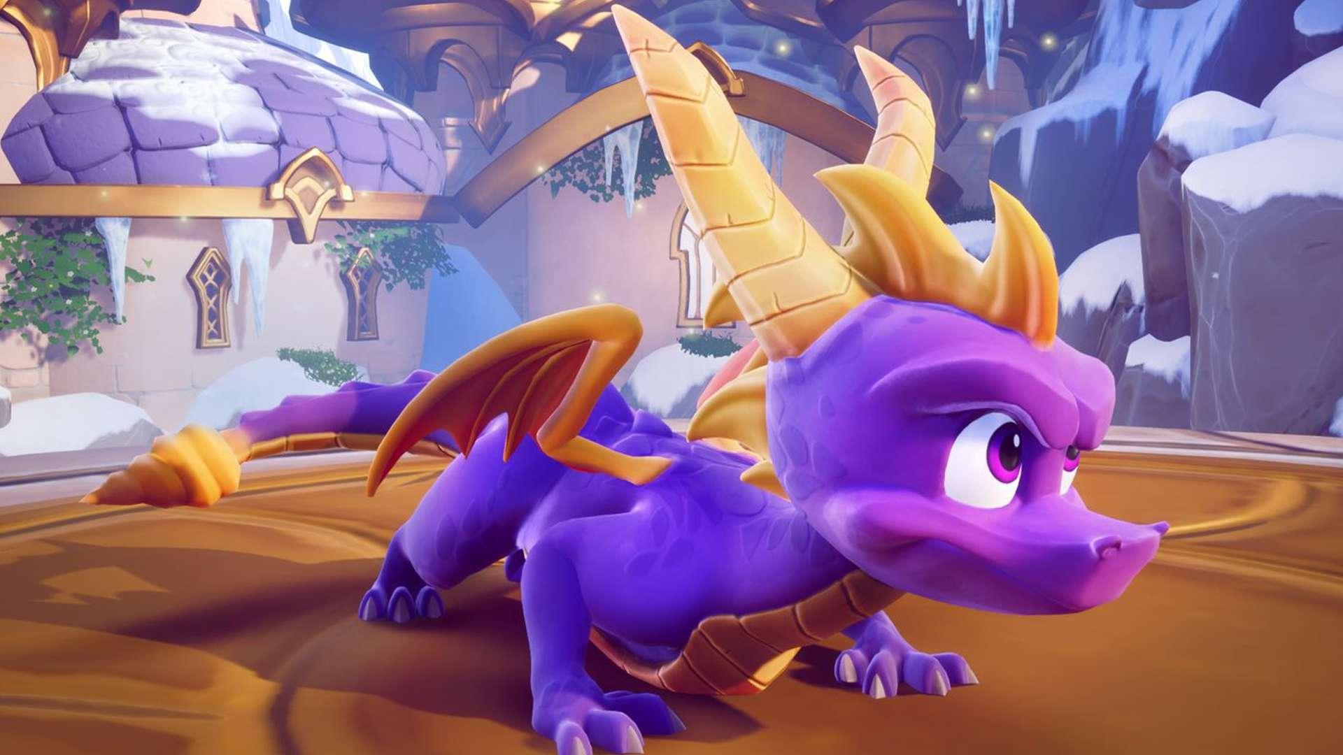 Spyro Reignited Trilogy offline video game for kids.
