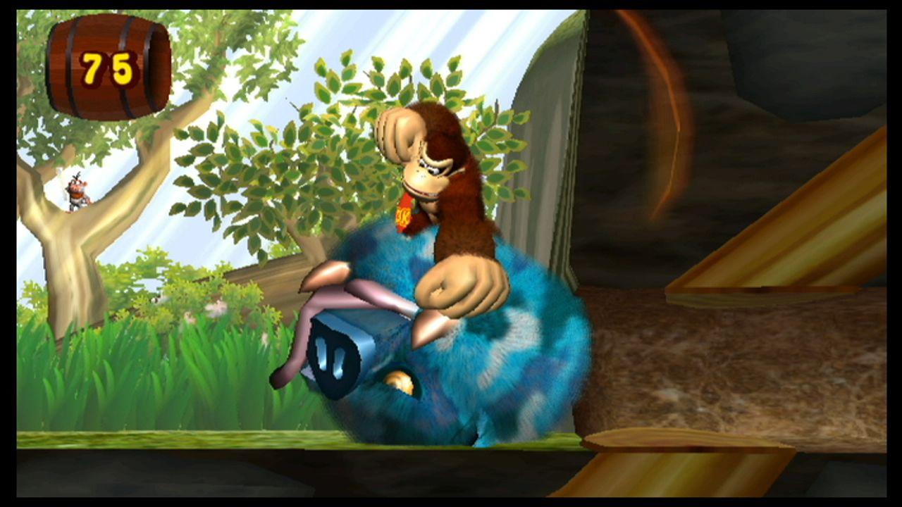New Play Control: Donkey Kong Jungle Beat game screenshot