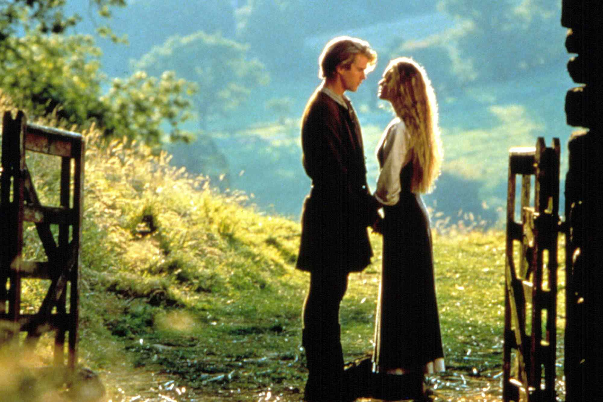 Cary Elwes and Robin Wright in The Princess Bride (1987)