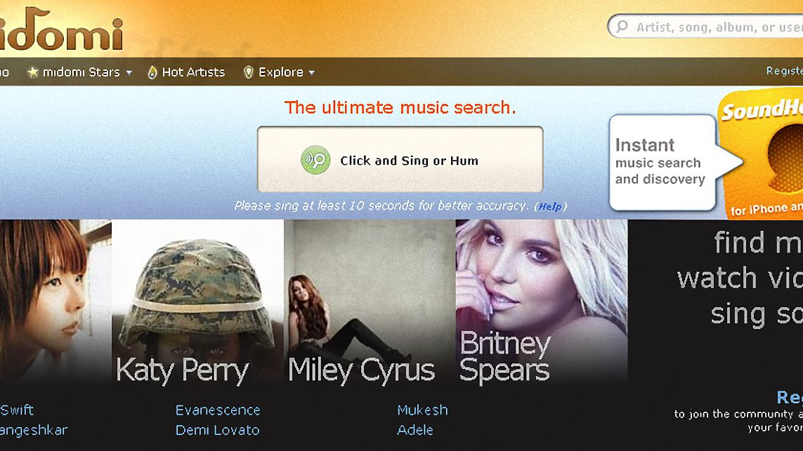 Websites That Identify Unknown Songs