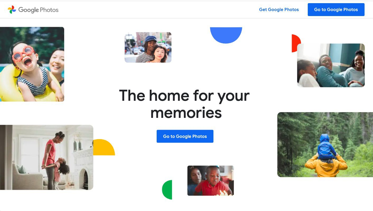 Google Photos photo and video hosting and sharing site