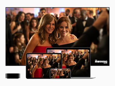 Apple TV+ shows on a TV, Mac, iPhone, and other devices