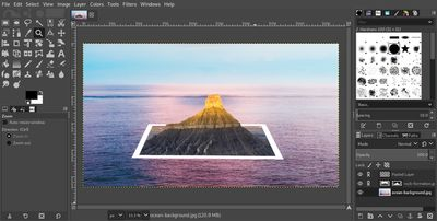 Make an HDR Photo in GIMP with Exposure Blend