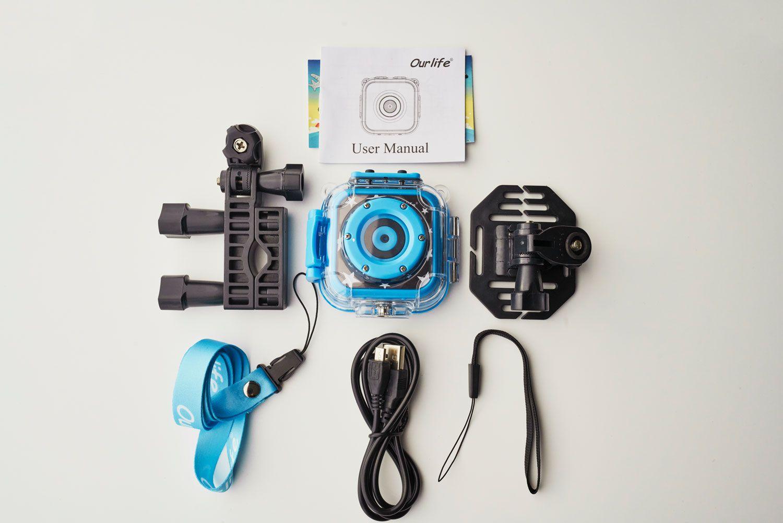 Ourlife Kids Waterproof Camera