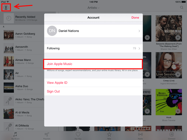 how to turn on airplay on ipad 3