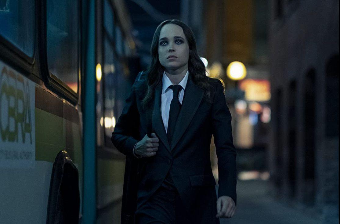 Ellen Page in 'The Umbrella Academy'