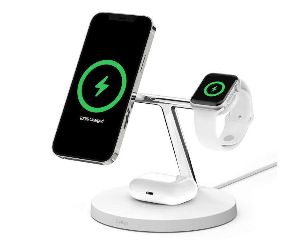 Belkin 3-in-1 Wireless Charger with MagSafe