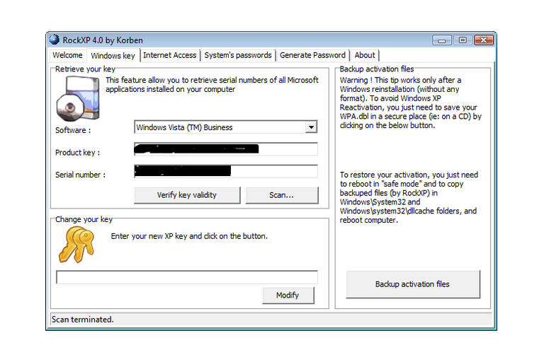 activate windows vista without product key