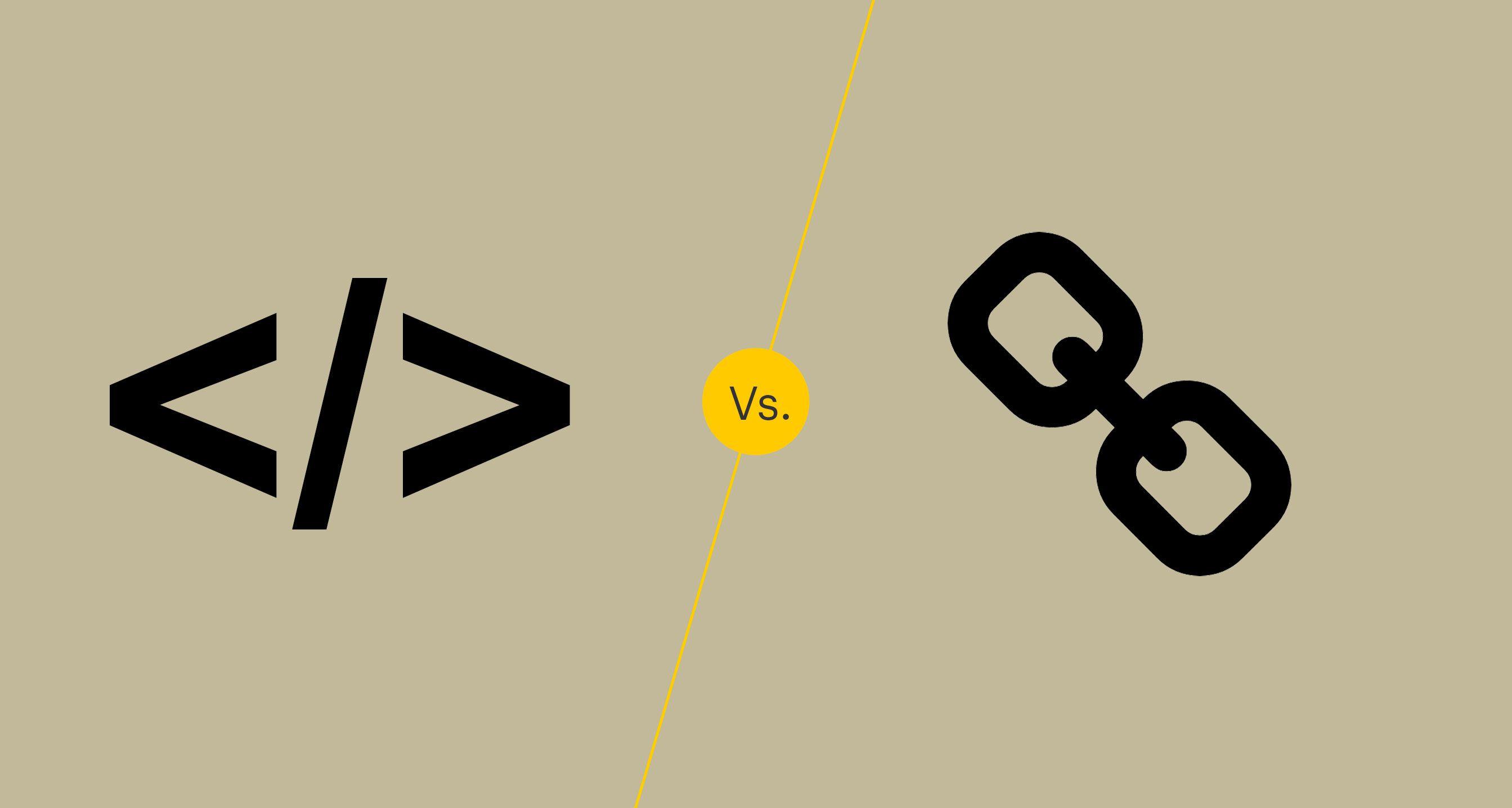 Embed vs Link