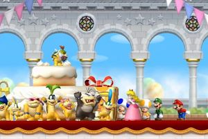 Screenshot from New Mario Bros.