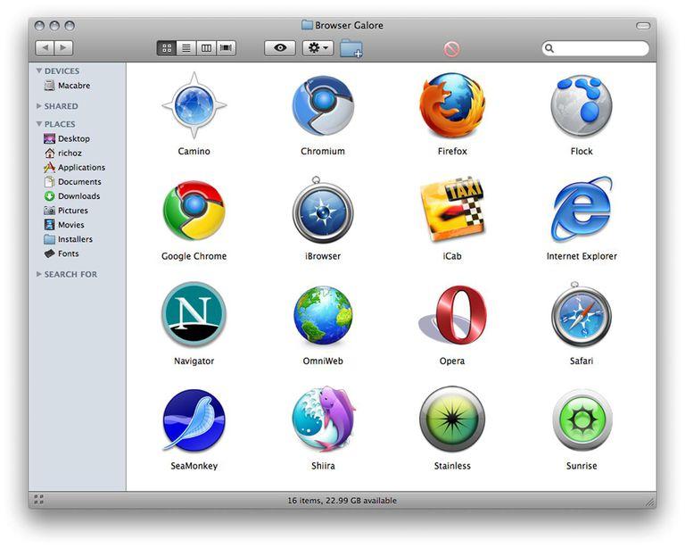Mac Browser Galore
