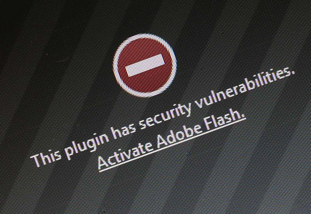 Firefox security warning for Adobe Flash
