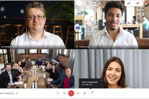 Google Meet meeting notification