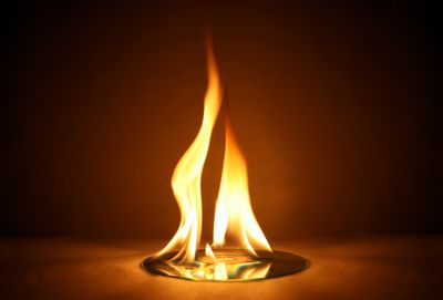 CD Burning with Large Yellow Flame to symbolize CD burning speed