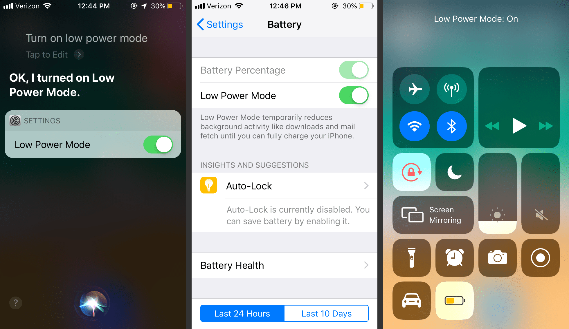 Using iPhone Low Power Mode for More Battery Life