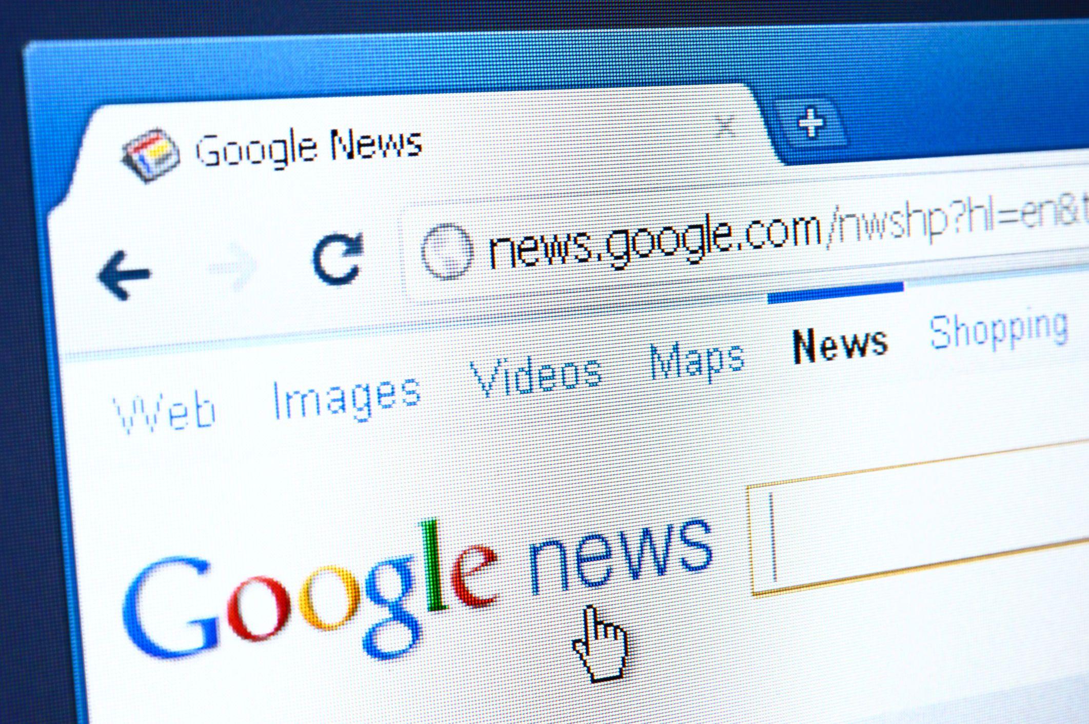 Google news rss