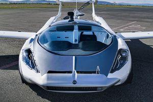 Stefan Klein's AirCar parked