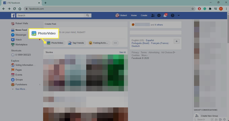 Photo/Video on Facebook.com