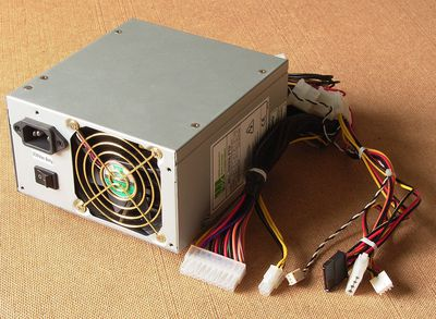 A Secondary PC Power Supply for Graphics Cards