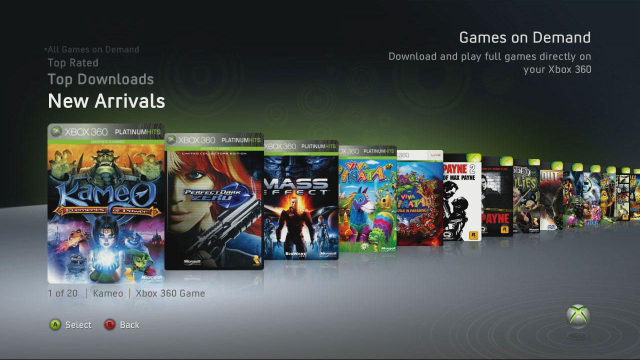 Xbox 360 Games On Demand Faq And Buying Tips