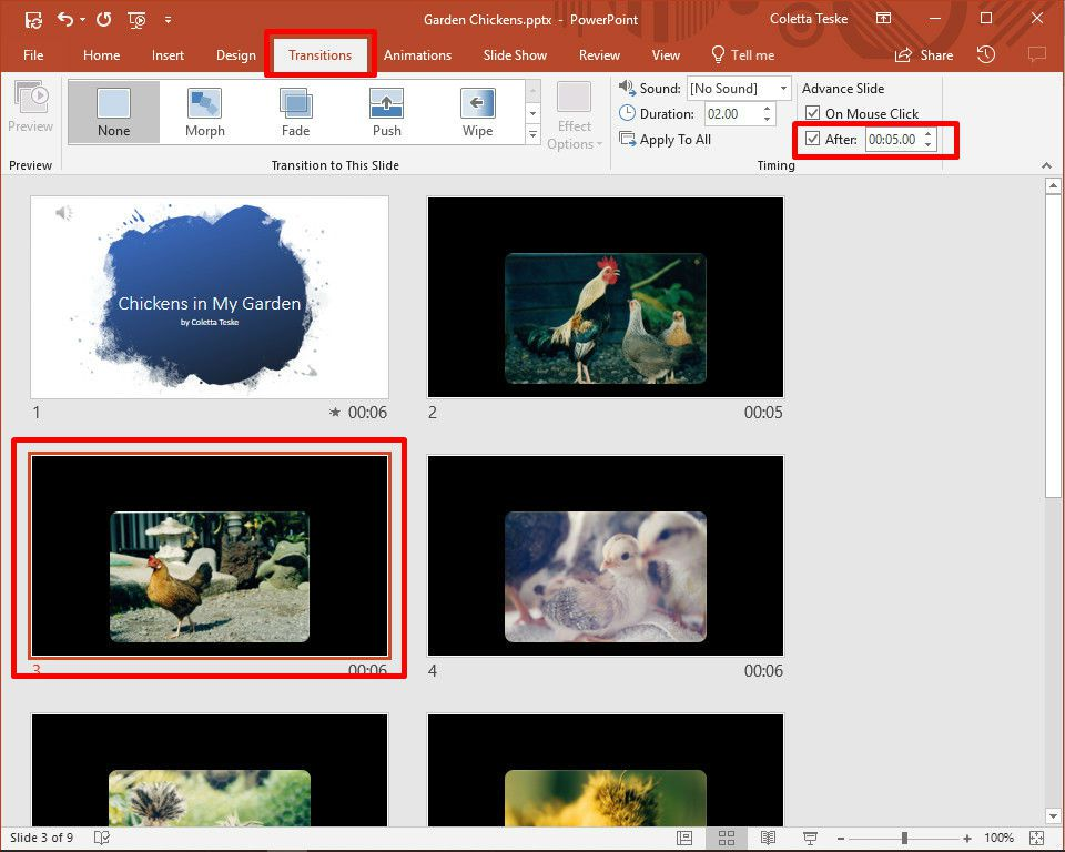 How to Make a Slideshow on PowerPoint