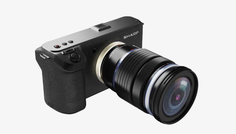 Sharp Compact 8K Camera