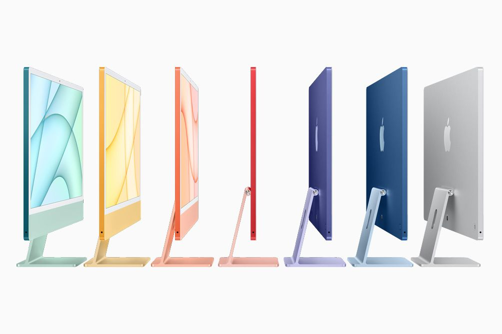 Apple iMac color options