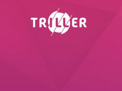 Triller social video app logo.