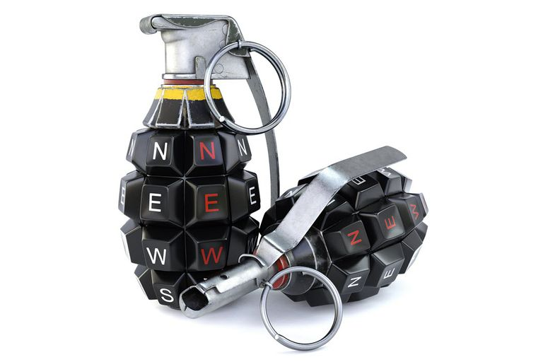 An image of a logic bomb grenade.