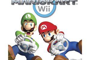 Mariokart for Wii gamecover
