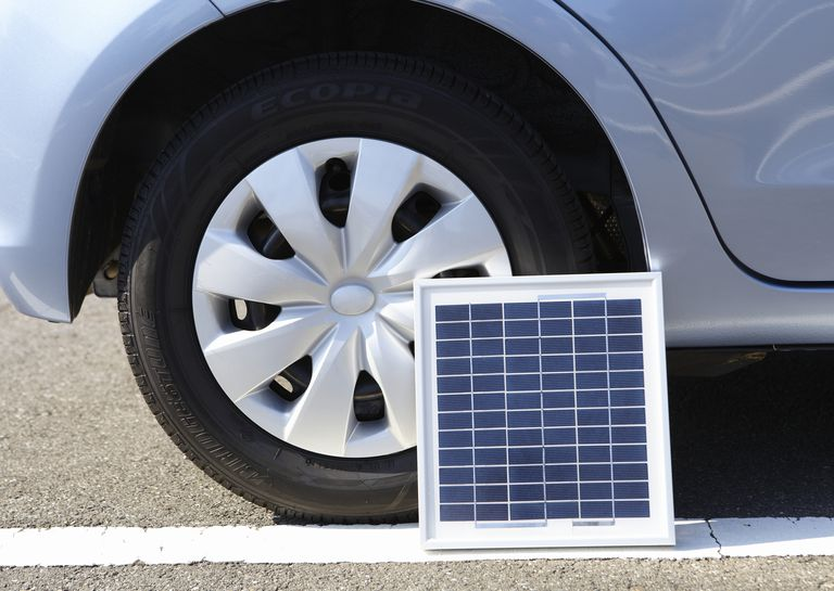 car solar battery charger