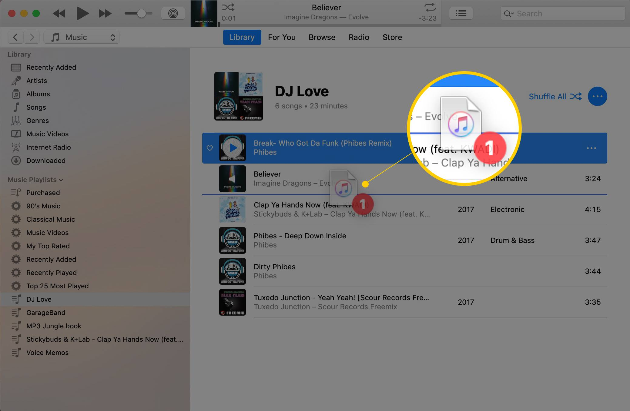 How to Put iTunes Playlist Songs in the Right Order