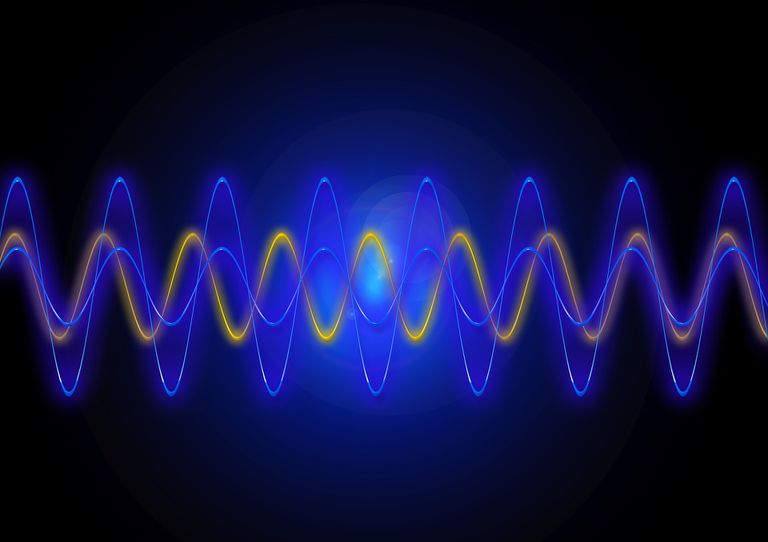 Illustration of the light spectrum