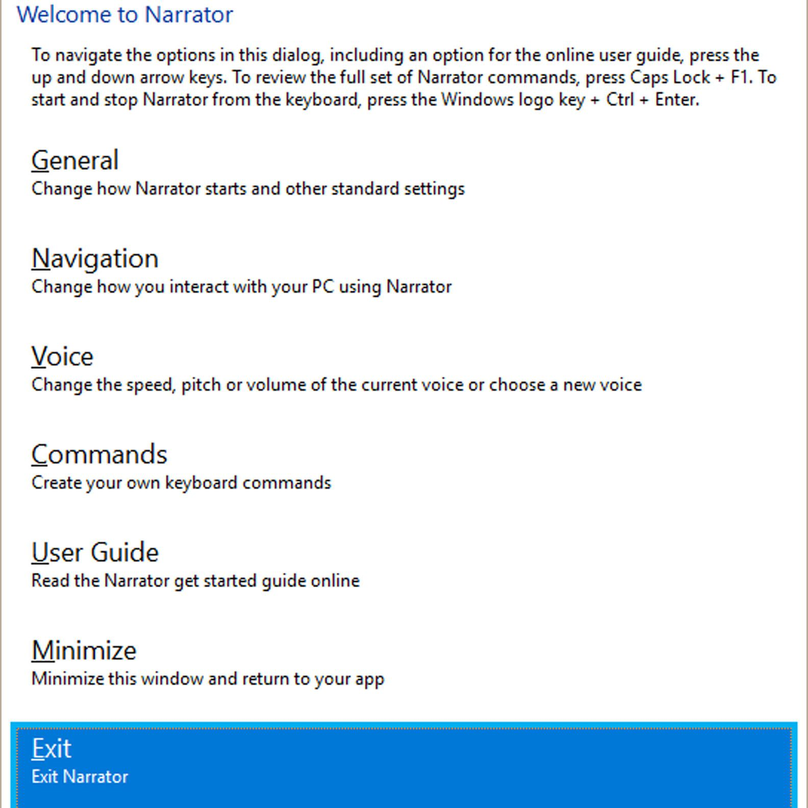 How to Turn Off Narrator in Microsoft
