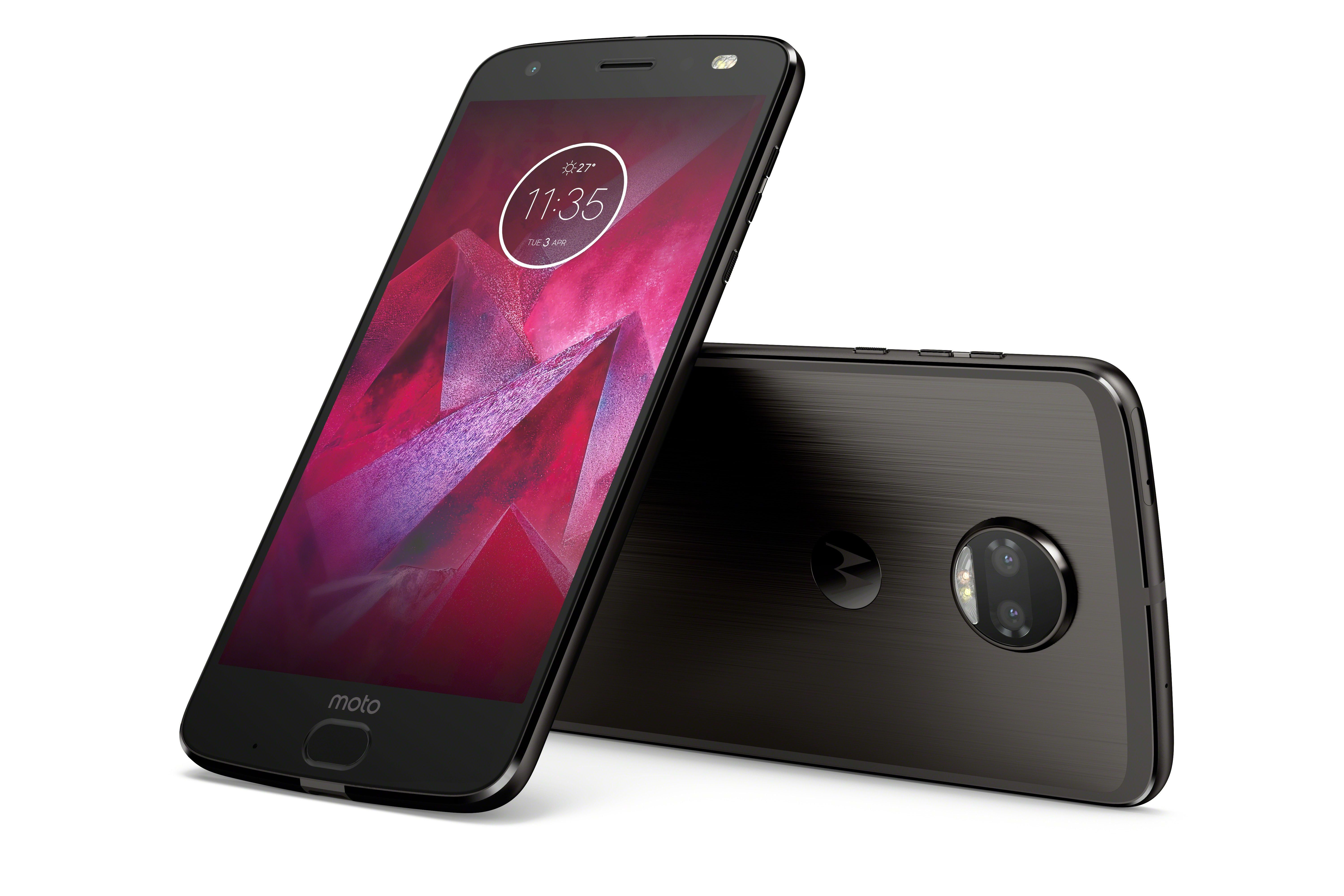 Moto Z2 Force Edition front/back