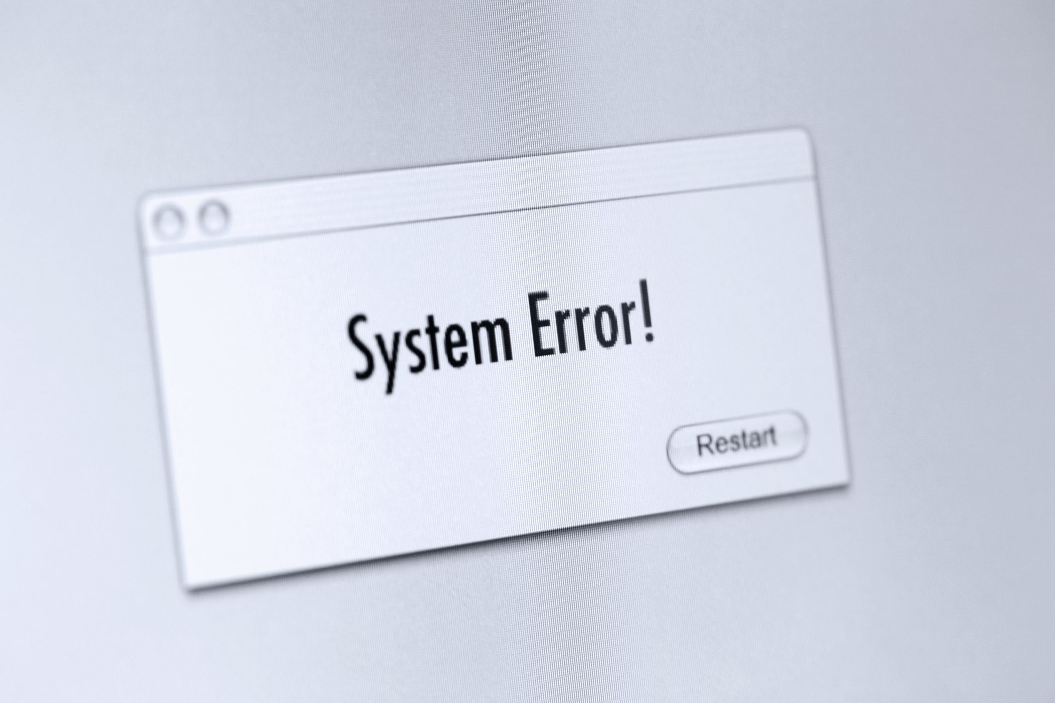 system error codes 1 to 15841 what each one means