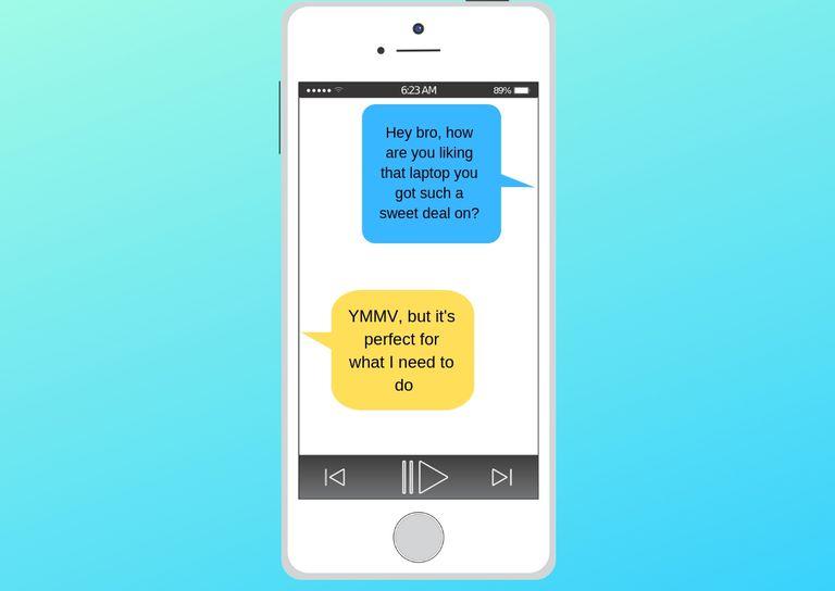 YMMV Reddit and messaging acronym