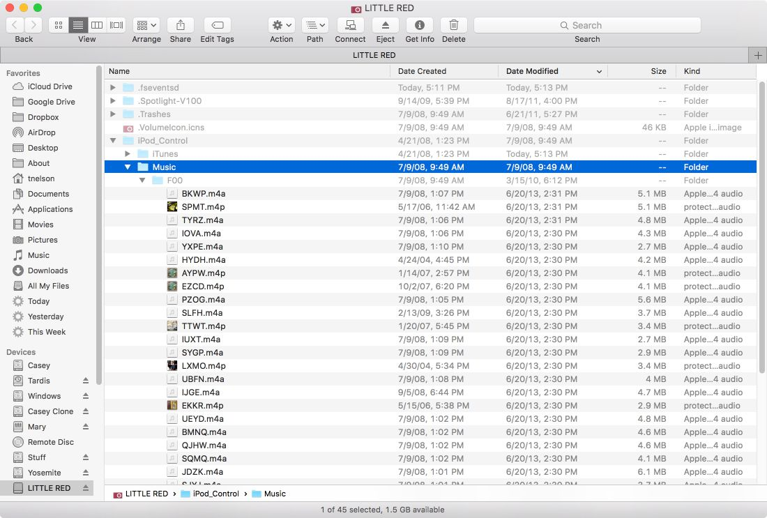 how to get music from ipod to mac