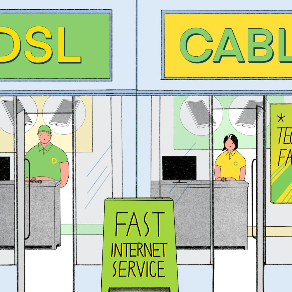 Broadband Internet Speed Comparison: DSL vs  Cable