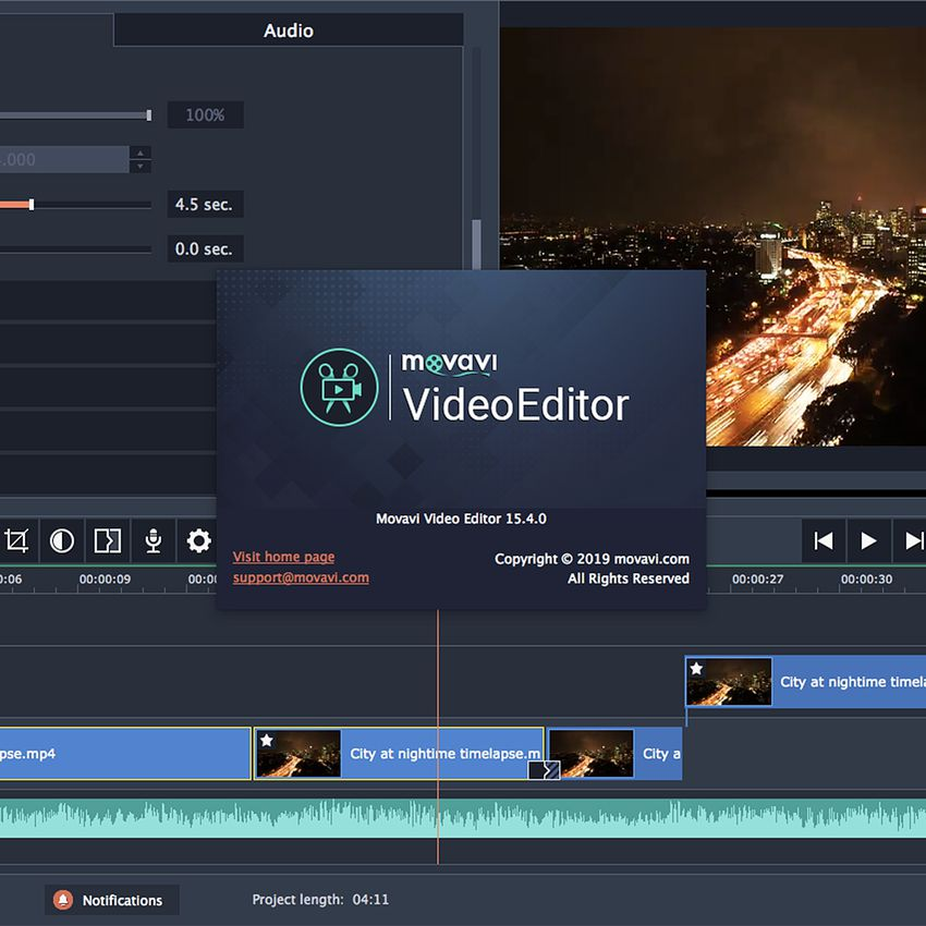 Movavi 15 Personal Edition Video Editor