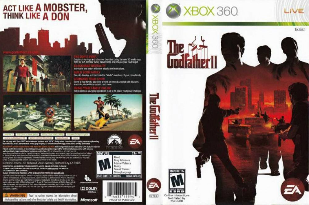 The Godfather 2 <b>Cheats</b>, Codes, and Secrets for <b>Xbox 360</b>