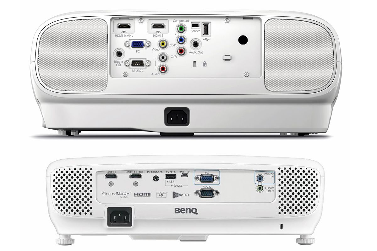video projector connection examples