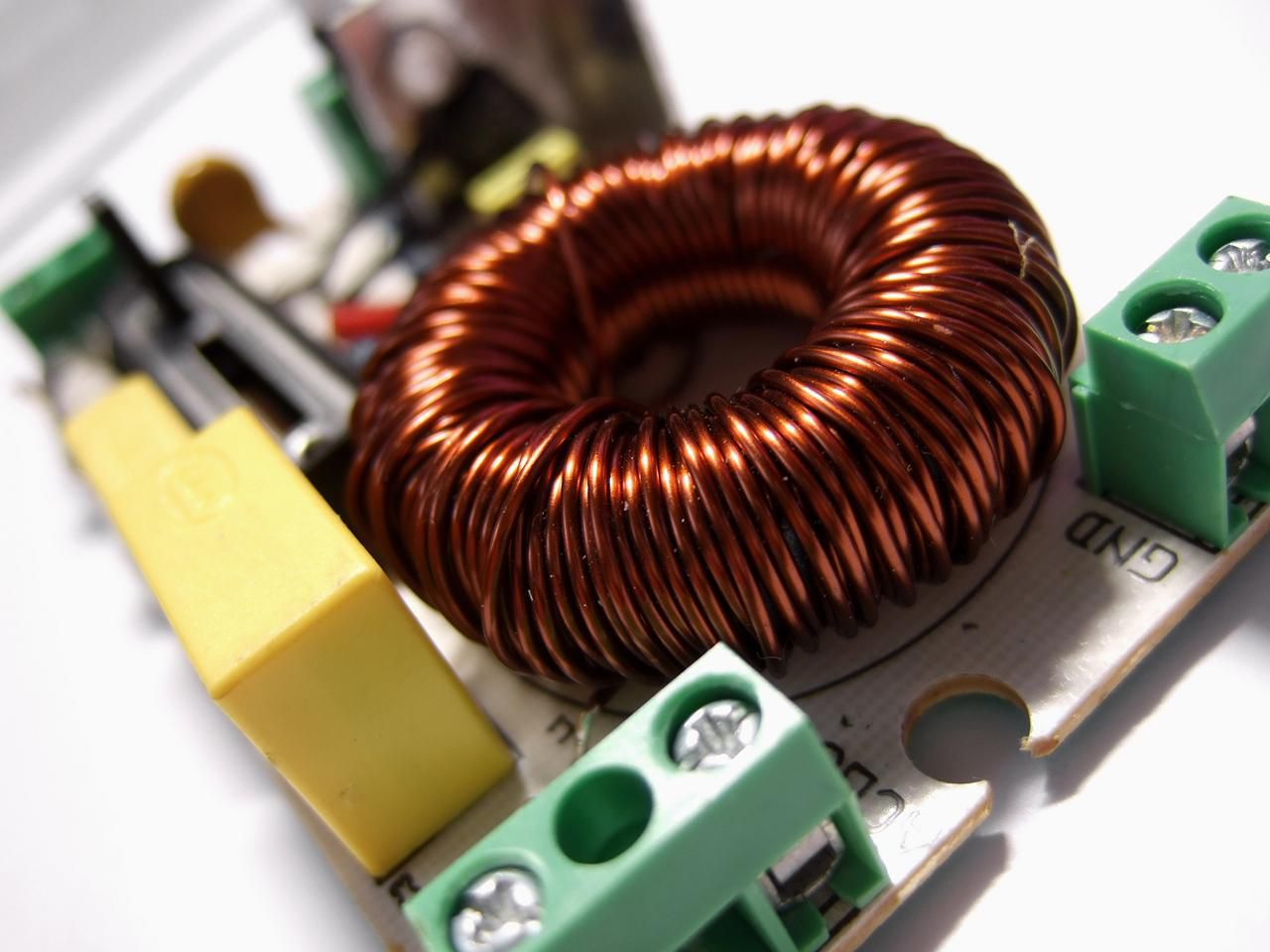 Types Of Inductors In Electronics Use Inductor A Circuit