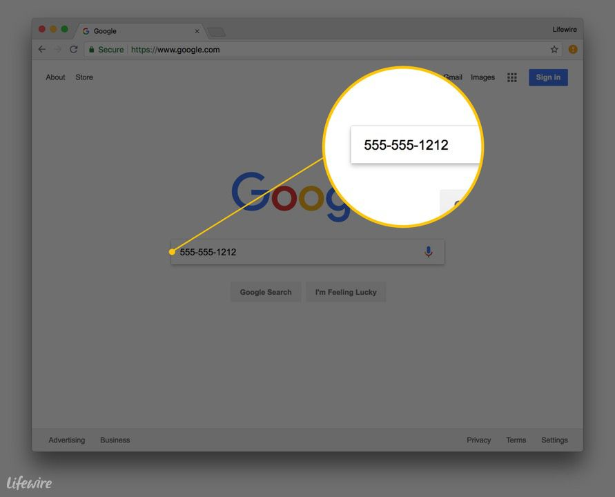 Lookup A Number >> How To Use Google For A Reverse Phone Lookup