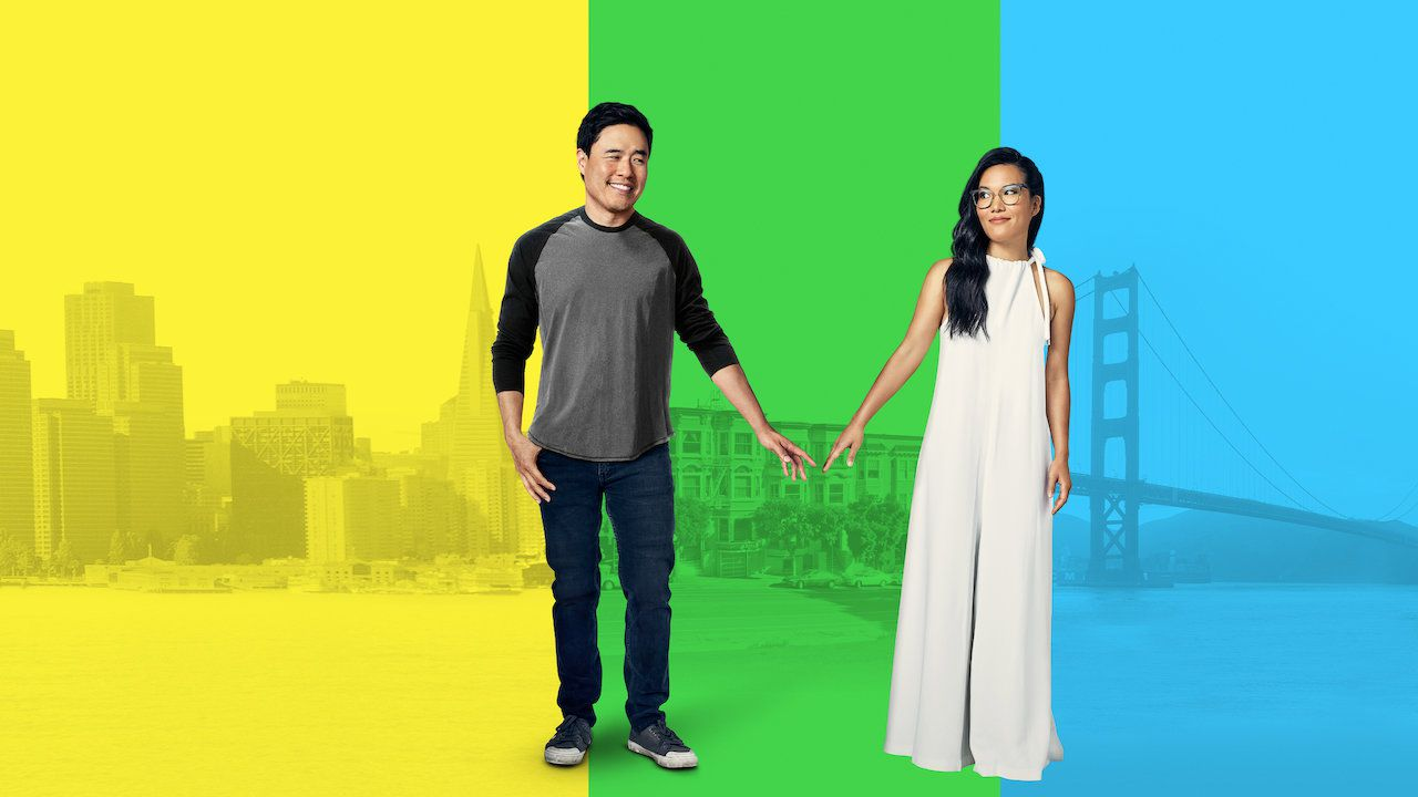 Ali Wong and Randall Park in Always Be My Maybe (2019)