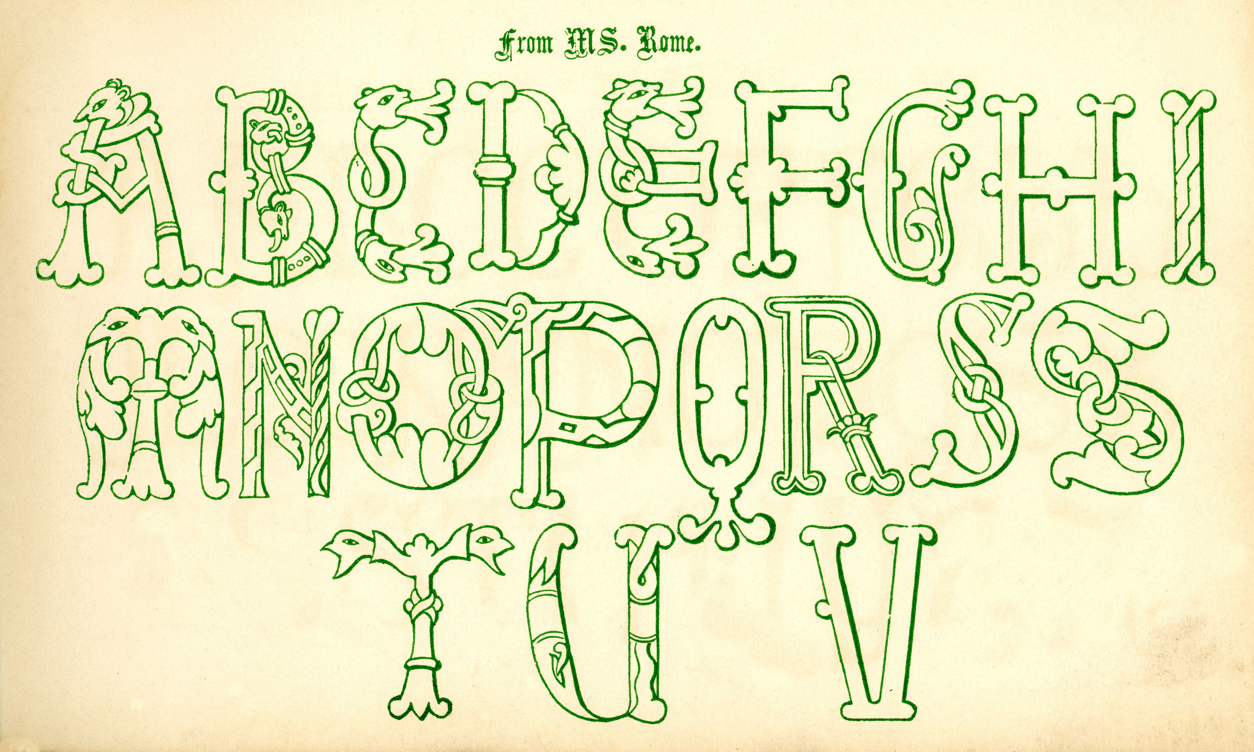 Fonts to Use for St  Patrick's Day