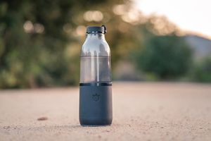 The Lifefuels water bottle.