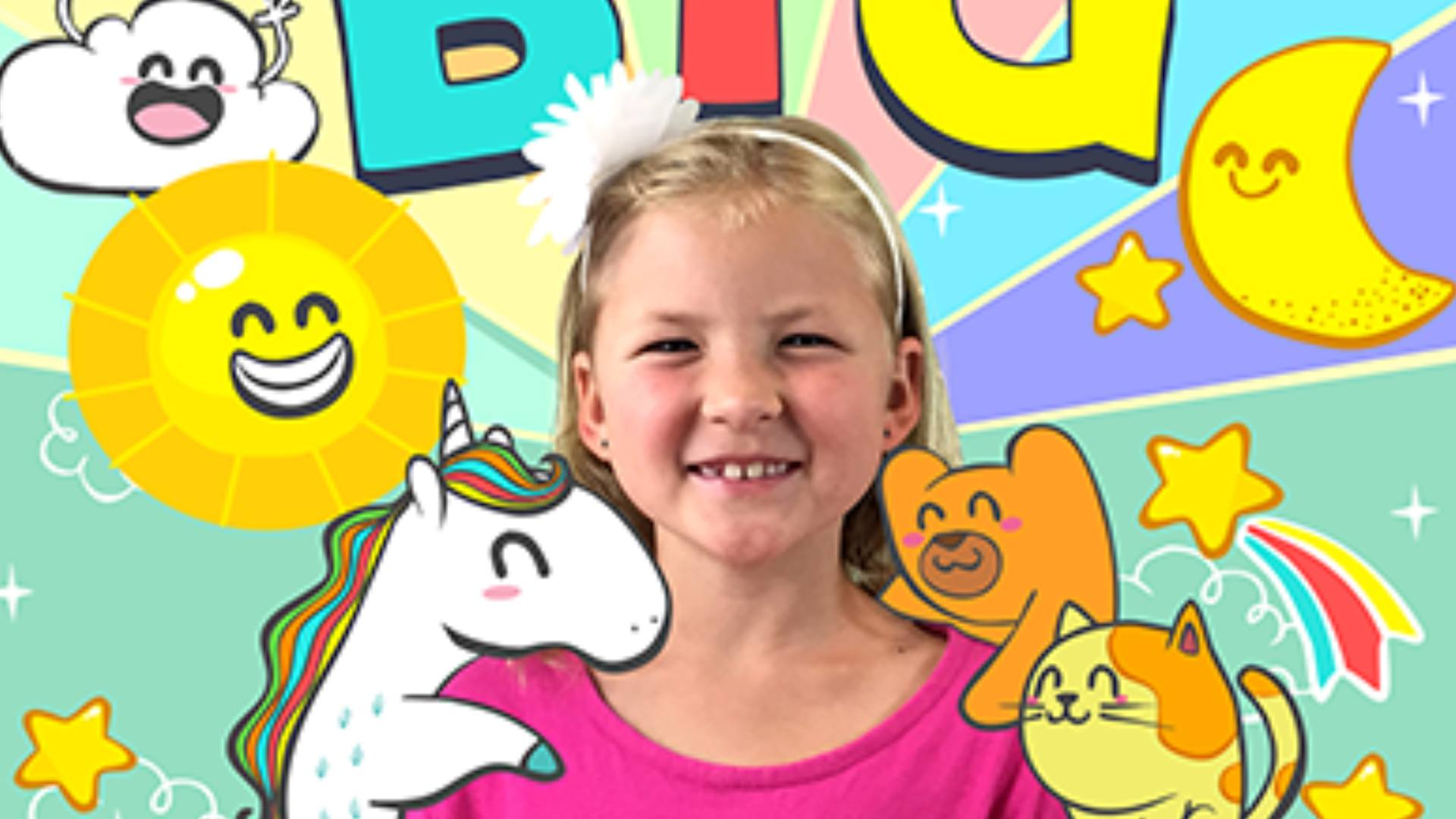 Dream Big safe podcast for kids